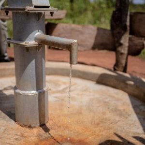 Water Borehole Gyenda Village, Lewengo, Uganda